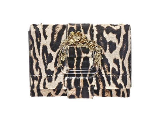 Roberto Cavalli推出全新秋冬豹纹包包