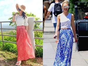 碎花长裙搭配什么上衣 4种时尚搭配方式开启撩春之旅