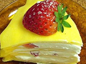 千层蛋糕的做法 简单易学一看就懂自己做蛋糕虏获爱人的心