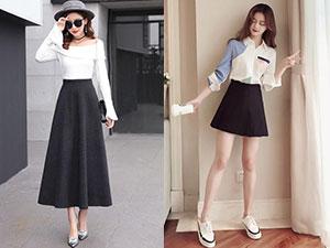 155的女生适合穿多长的裙子 学会这样穿不仅显高还显瘦
