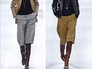 七分阔腿裤配什么鞋子好看 这些时尚搭配不容错过